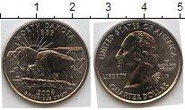 Изображение Мелочь США 1/4 доллара 2006 Медно-никель AUNC D Северная Дакота 18