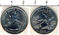 Изображение Мелочь США 1/4 доллара 2008 Медно-никель AUNC