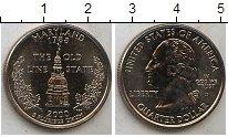 Изображение Мелочь США 1/4 доллара 2000 Медно-никель UNC-