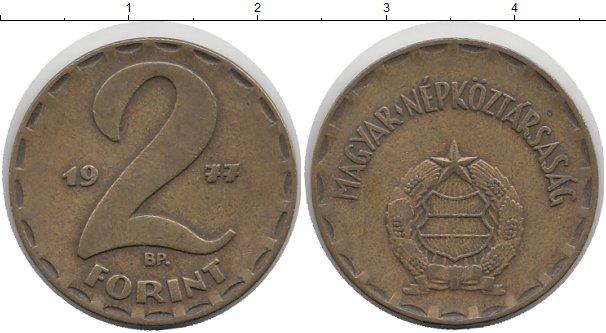 Картинка Мелочь Венгрия 2 форинта Медь 1983