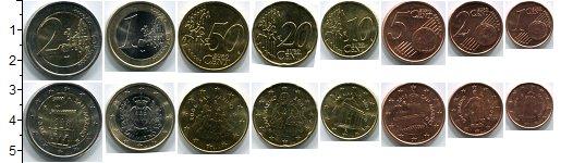 Изображение Наборы монет Сан-Марино Сан-Марино 2006-2012 0  AUNC В наборе 8 монет ном