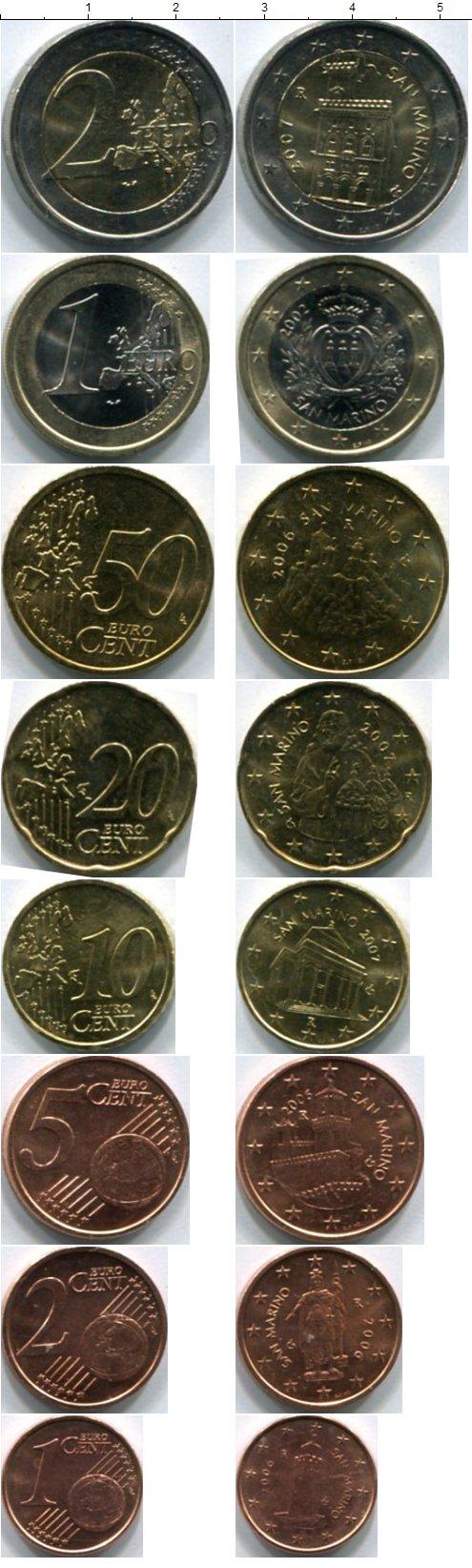 Картинка Наборы монет Сан-Марино Сан-Марино 2006-2012  0