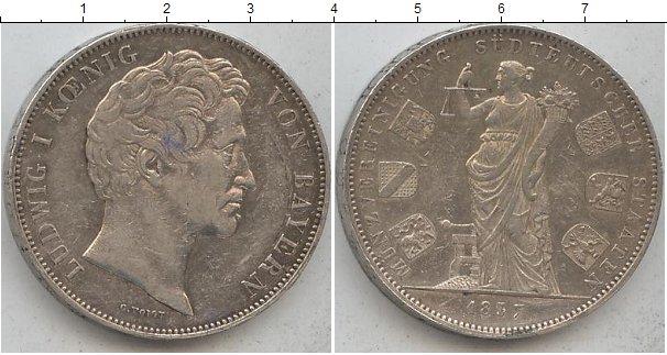 Картинка Монеты Бавария 2 талера Серебро 1837