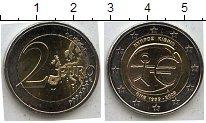 Изображение Мелочь Кипр 2 евро 2009 Биметалл UNC-