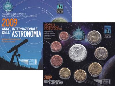 Изображение Подарочные наборы Сан-Марино Евронабор 2009 2009  UNC