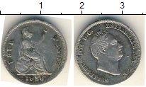 Изображение Монеты Великобритания 4 пенса 1836 Серебро  Гуилелмус IV
