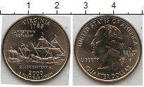 Изображение Мелочь США 1/4 доллара 2000 Медно-никель UNC