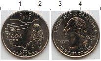 Изображение Мелочь США 1/4 доллара 2002 Медно-никель XF