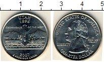 Изображение Мелочь США 1/4 доллара 2007 Медно-никель UNC-