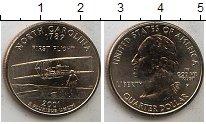 Изображение Мелочь США 1/4 доллара 2001 Медно-никель XF