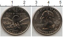 Изображение Мелочь США 1/4 доллара 2003 Медно-никель XF