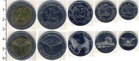 Изображение Наборы монет Йемен Йемен 2003-2006 0  AUNC В наборе 5 монет ном