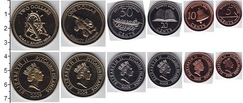 Изображение Наборы монет Острова Питкэрн Острова Питкэрн 2009 2009  UNC- В наборе 6 монет ном