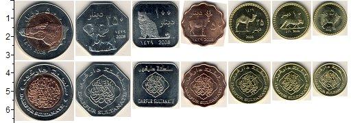 Изображение Наборы монет Дарфур Дарфур 2008 2008  UNC-