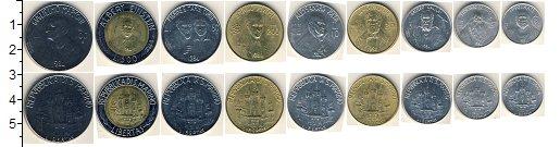 Изображение Наборы монет Сан-Марино Сан-Марино 1984 1984  AUNC Набор состоит из 9 м