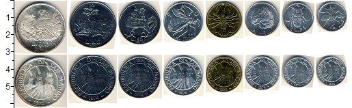 Изображение Наборы монет Сан-Марино Сан-Марино 1974 1974  AUNC Набор состоит из 8 м