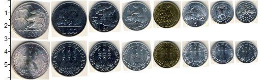 Изображение Наборы монет Сан-Марино Сан-Марино 1975 1975  AUNC Набор состоит из 8 м