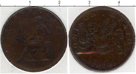 Картинка Монеты Ионические острова 2 лепты Медь 1820