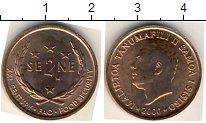 Изображение Мелочь Самоа 2 сене 2000 Медь AUNC
