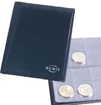 Изображение Аксессуары для монет Альбомы карманные Карманный альбом для монет Numis Pocket M2 BL 0   Содержимое: 8 монетн
