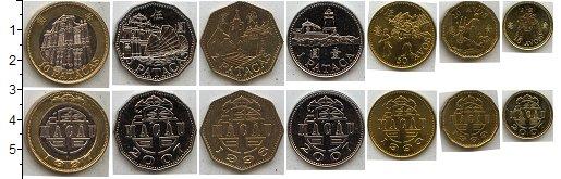 Изображение Наборы монет Макао Макао 1993-2007 0  UNC В наборе 7 монет ном