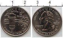 Изображение Мелочь США 1/4 доллара 2009 Медно-никель AUNC