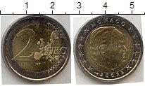 Изображение Мелочь Монако 2 евро 2002 Биметалл XF