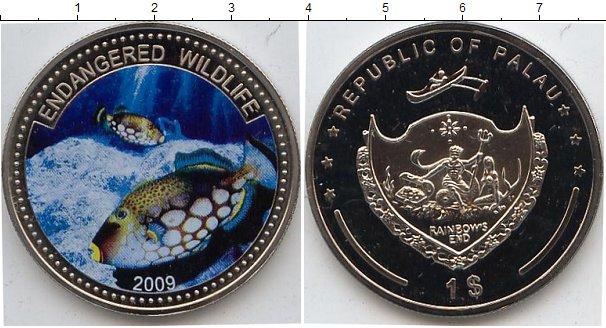 Картинка Мелочь Палау 1 доллар Медно-никель 2009