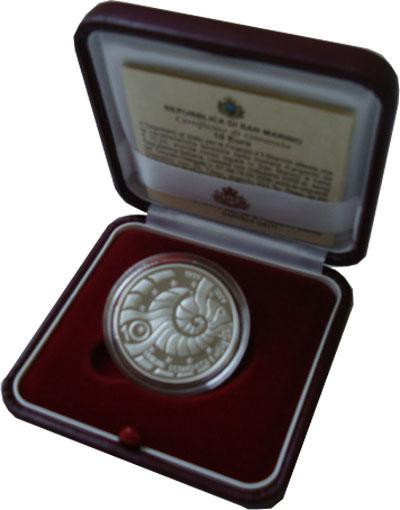 Изображение Подарочные монеты Сан-Марино Объединённая экономика 2009 Серебро Proof