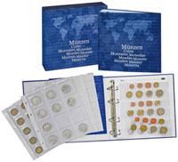 Изображение Аксессуары для монет Karat  Альбом Karat Basic L1116 M с листами в футляре, 0