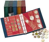 Изображение Аксессуары для монет Karat  Альбом Karat L1106 E для монет в футляре, с листами, 0