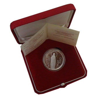 Изображение Подарочные наборы Ватикан Понтифик Иоанн Павел 2004 Серебро Proof Подарочный набор пос