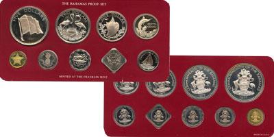 Изображение Подарочные монеты Багамские острова Выпуск 1978 года 1978  Proof