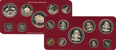 Изображение Подарочные монеты Багамские острова Выпуск 1976 года 1976  Proof Подарочный набор 197