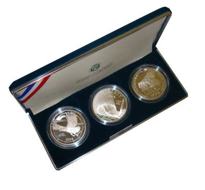 Изображение Подарочные наборы США Ветераны Вьетнамской войны 1994 Серебро Proof-