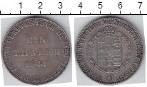 Изображение Монеты Гессен 1 талер 1841 Серебро