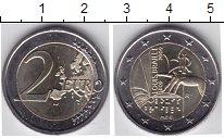Изображение Мелочь Италия 2 евро 2009 Биметалл UNC