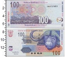 Изображение Боны ЮАР 100 рандов 2005  UNC