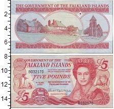 Изображение Боны Фолклендские острова 5 фунтов 2005  UNC
