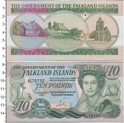 Картинка Боны Фолклендские острова 10 фунтов  2011