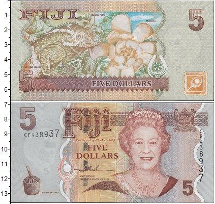 Картинка Боны Фиджи 5 долларов  0