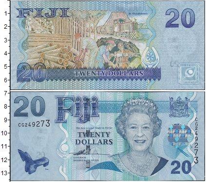 Картинка Боны Фиджи 20 долларов  0