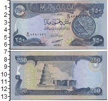 Изображение Банкноты Ирак 250 динар 2003  UNC Астролябия. Спиральн
