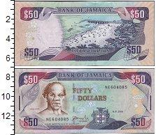 Изображение Банкноты Ямайка 50 долларов 2002  UNC