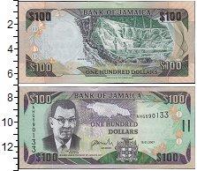 Изображение Банкноты Ямайка 100 долларов 2007  UNC