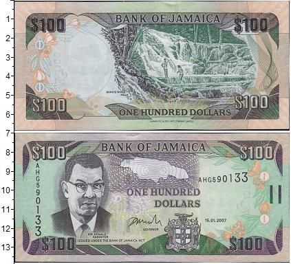 Картинка Боны Ямайка 100 долларов  2004