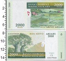 Изображение Банкноты Мадагаскар 2000 ариари 2003  UNC