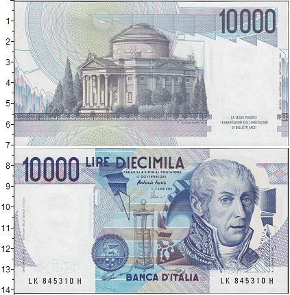 Картинка Боны Италия 10.000 лир  1984