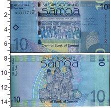 Изображение Банкноты Самоа 10 долларов 0  UNC