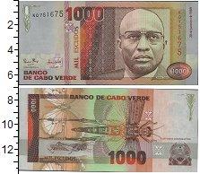 Изображение Банкноты Кабо-Верде 1000 эскудо 1989  UNC